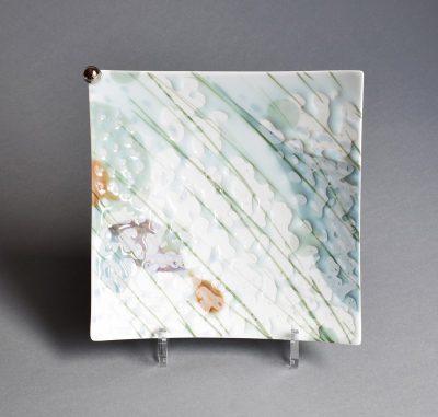 w-pastel square plate